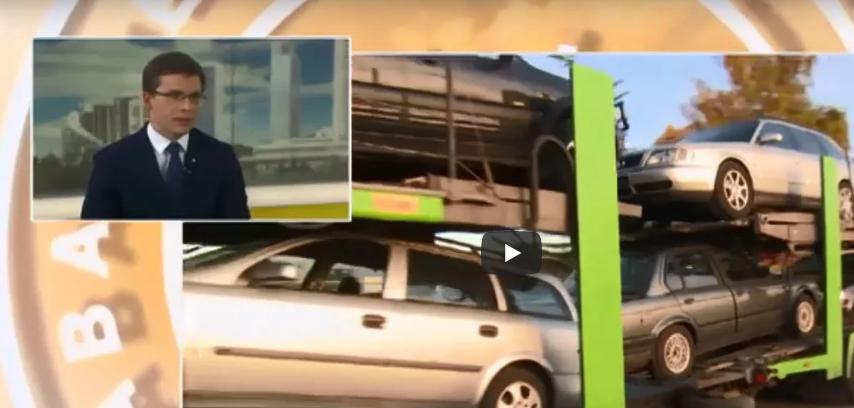 Automobiliu pardavimas: advokato interviu LRT studijoje